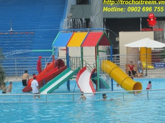 Combination Water Slide 01